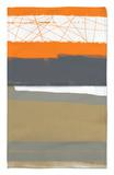 Naranja abstracto 1 Alfombrilla por NaxArt