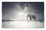 Walk with Me Rug by Luis Beltran
