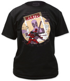 Deadpool - Wanted T-shirts