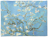 Almond Branches in Bloom, San Remy, c.1890 Fleece Blanket by Vincent van Gogh