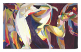 Dances, 1914/15 Rug by Arthur Bowen Davies