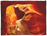 Upper Antelope Canyon, Page, Arizona, USA Fleece Blanket by Michel Hersen
