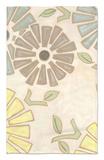 Pastel Pinwheels II Alfombrilla por Karen Deans