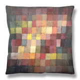 Ancient Harmony, 1925 Throw Pillow by Paul Klee