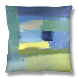 Abstract No.10 Throw Pillow by Diana Ong