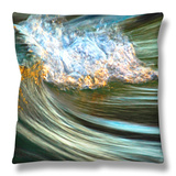 The End of Another Day Throw Pillow by Ursula Abresch