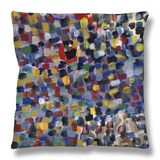 Abstract No.22 Throw Pillow by Diana Ong