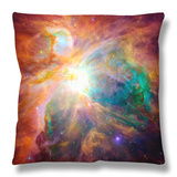 Orion Nebula Throw Pillow by  Stocktrek Images