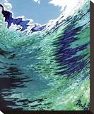 Under a Clear Sky Trykk på strukket lerret av Margaret Juul