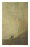 El perro, 1820-23 Alfombrilla por Francisco de Goya