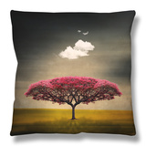 Medusa Cloud Throw Pillow by Philippe Sainte-Laudy