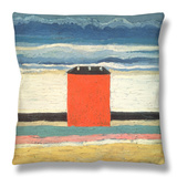 Red House, 1932 Throw Pillow by Kasimir Malevich