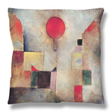 Red Balloon, 1922 Throw Pillow by Paul Klee
