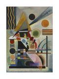Swinging Giclee Print by Wassily Kandinsky