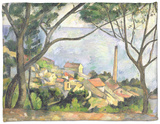 The Sea at L'Estaque, 1878 Fleece Blanket by Paul Cézanne