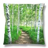 White Birch Lane Throw Pillow