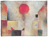 Red Balloon, 1922 Fleece Blanket by Paul Klee