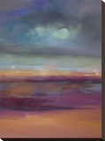 Distance Unfolding Stretched Canvas Print by Nancy Ortenstone