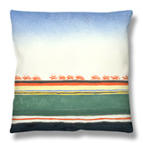 Red Cavalry, 1928-32 Throw Pillow by Kasimir Malevich