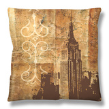Urban Icon III Throw Pillow by Ethan Harper