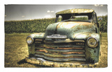 Chevy Truck Rug by Stephen Arens