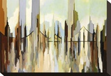 Skyscraper City Stretched Canvas Print by Gregory Lang