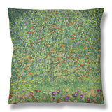 Apple Tree, 1912 Throw Pillow by Gustav Klimt