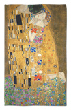 The Kiss, c.1907 Rug by Gustav Klimt