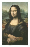 Mona Lisa, c.1507 Rug by  Leonardo da Vinci