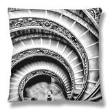 Escalera de caracol Throw Pillow por Andrea Costantini