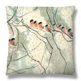 Aroma of Early Spring Throw Pillow by Minrong Wu