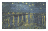Starry Night over the Rhone, c.1888 Rug by Vincent van Gogh
