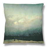 Monk by Sea, 1809 Throw Pillow by Caspar David Friedrich