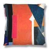 Painterly Architectonics, 1916-17 Throw Pillow by Liubov Sergeevna Popova