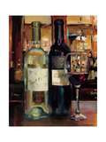 A Reflection of Wine II Print by Marilyn Hageman