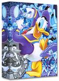 Celebrate the Duck Edición limitada en lienzo por Tim Rogerson