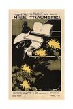 Miss Träumerei: a Weimar Idyl Giclee Print by Ethel Reed