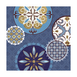 Mediterranean Blue II Print by Veronique Charron