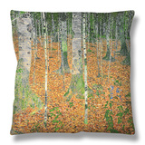 The Birch Wood, 1903 Throw Pillow by Gustav Klimt