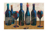 Wine Splash Light I Premium Giclee Print by Jim Wellington
