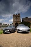 Aston Martin V8 Vantage und Porsche 911 Carrera S Photographic Print by Achim Hartmann