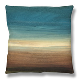 Abstract Horizon IV Throw Pillow by Ethan Harper