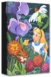 A Conversation with Flowers Limitierte Auflage auf Leinwand von Michelle St. Laurent