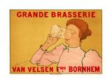 Grande Brasserie Van Velsen Giclee Print by Armand Rassenfosse