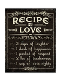 Life Recipes I Prints by Jess Aiken