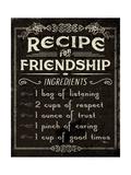 Life Recipes III Prints by  Pela Studio