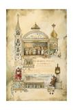 Moskva Gicléetryck av Elizaveta Merkuryevna Bem