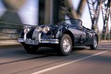 Jaguar XK 150 Papier Photo par Uli Jooss