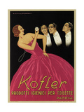 Kofler Perfume and Beauty Products Giclee Print by G. Guillermaz
