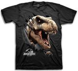 Jurassic World Tear Through T-shirts